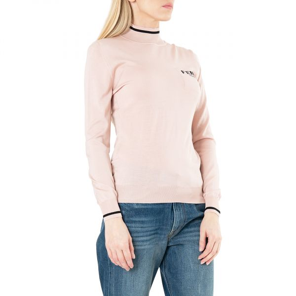 Гольф Fendi розовый