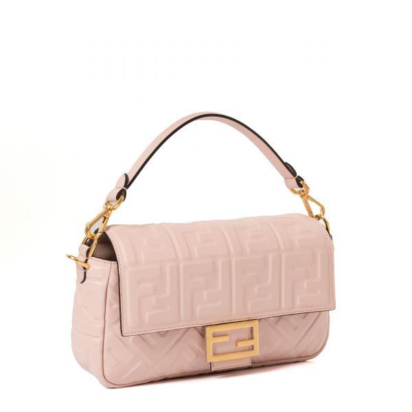 Сумка Fendi Baguette розовая