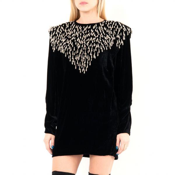 Платье Isabel Marant GABASI черное