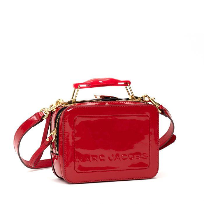 Сумка Marc Jacobs The Box 20 Bag красная