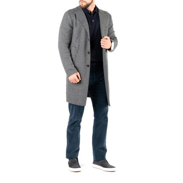 Пальто Eleventy серое