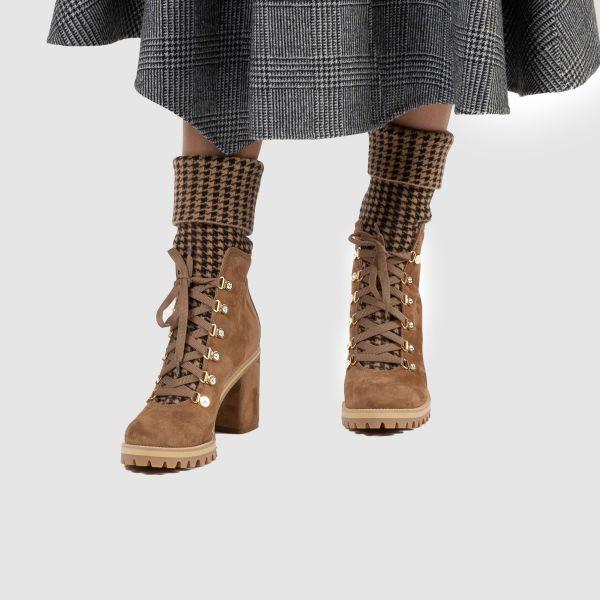 Ботинки Le Silla St. Moritz коричневые