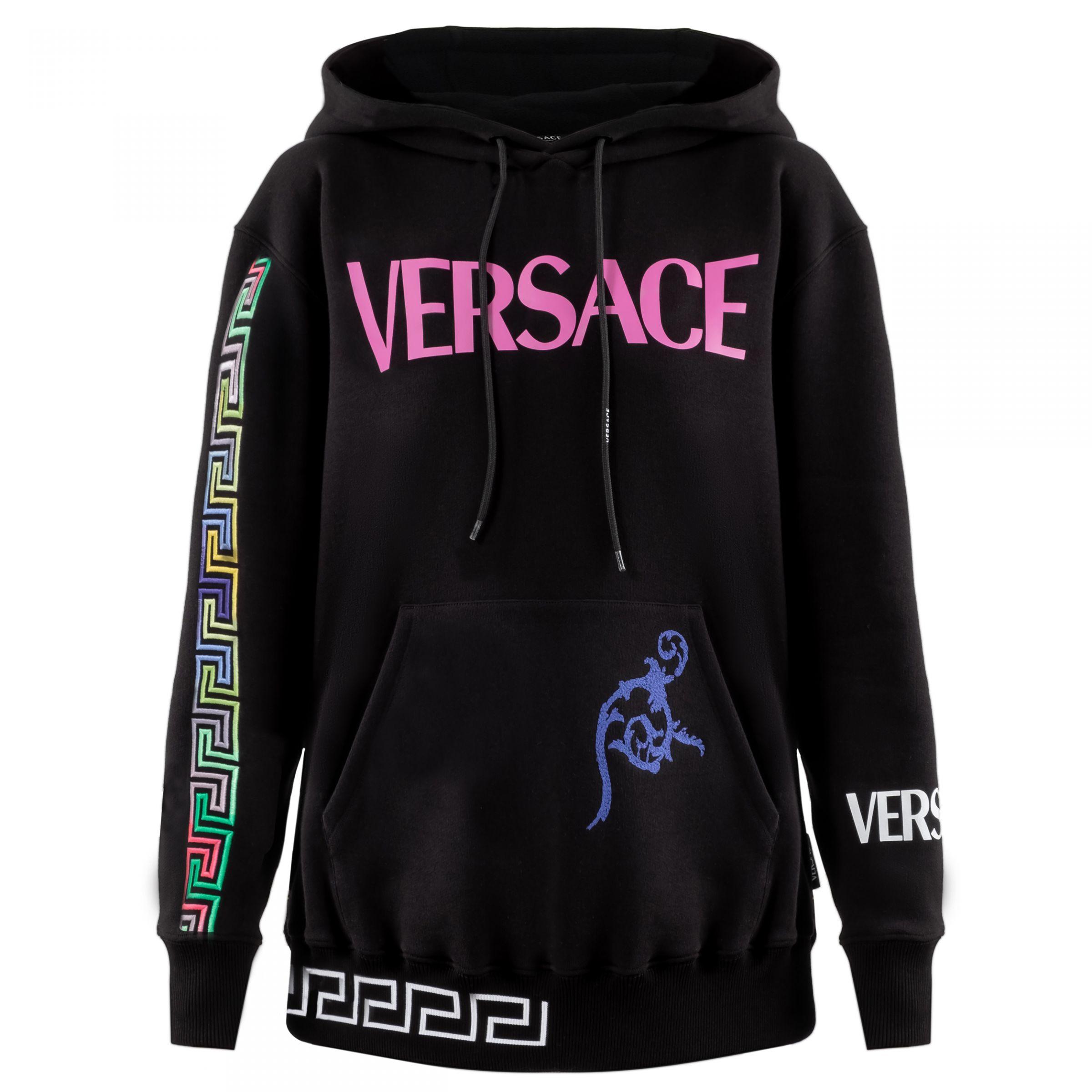 Худи Versace черное