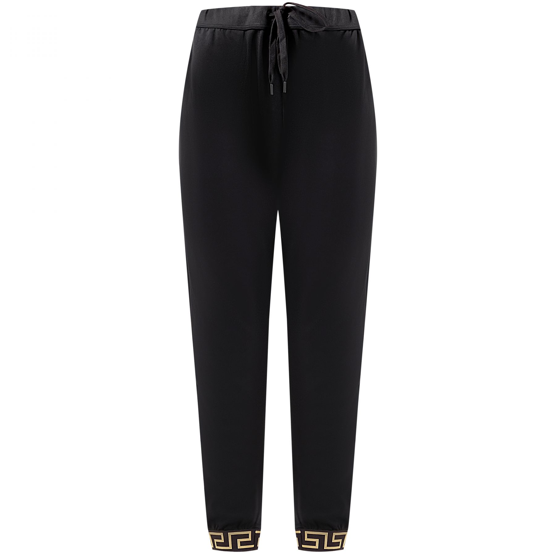 Спортивные брюки Versace черные