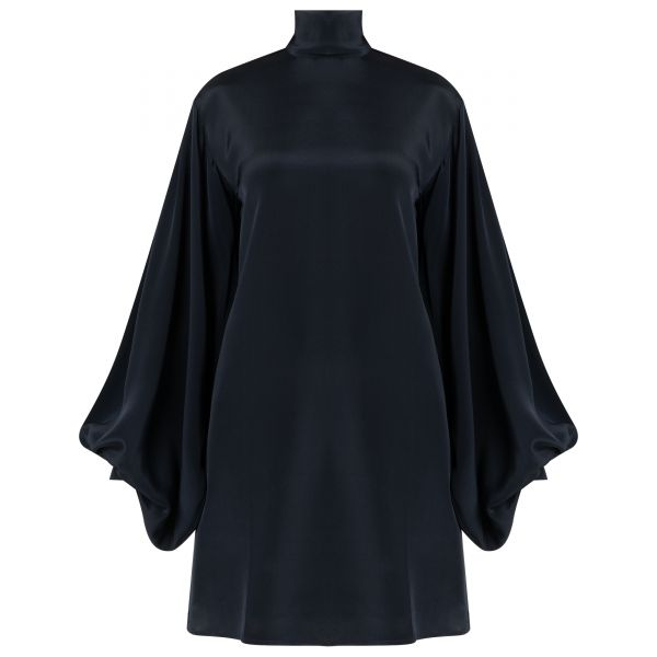 Платье Victoria Beckham темно-синее