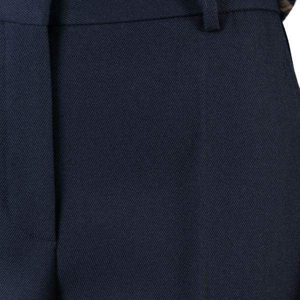 Брюки Victoria Beckham темно-синие
