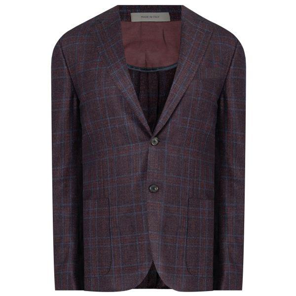 Пиджак Corneliani бордо-серый
