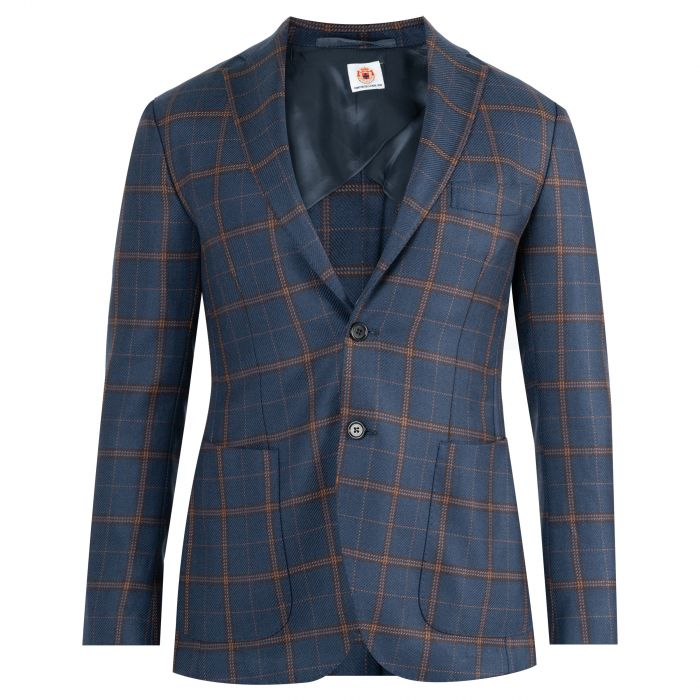 Пиджак Luigi Borrelli синий