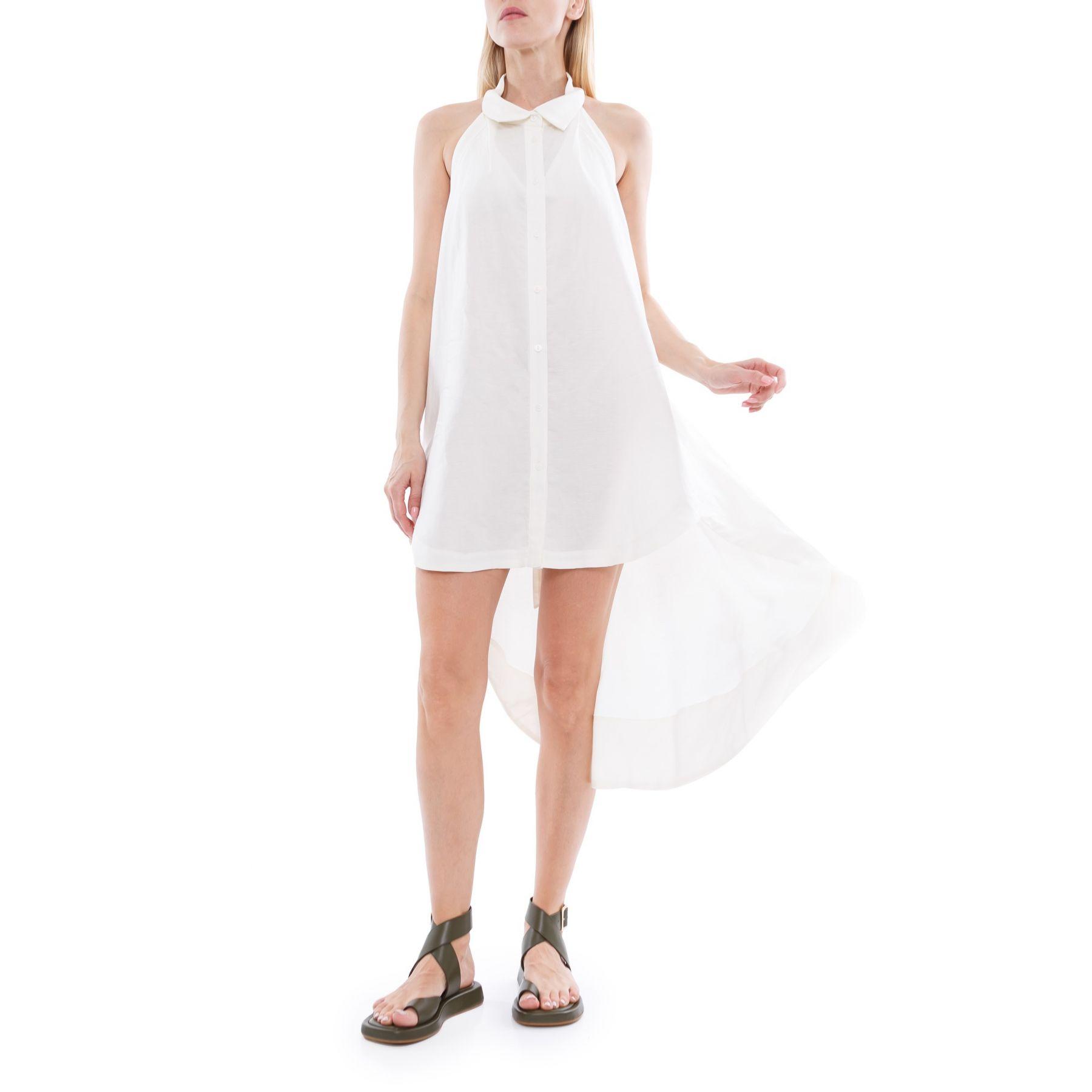 Платье Cult Gaia белое