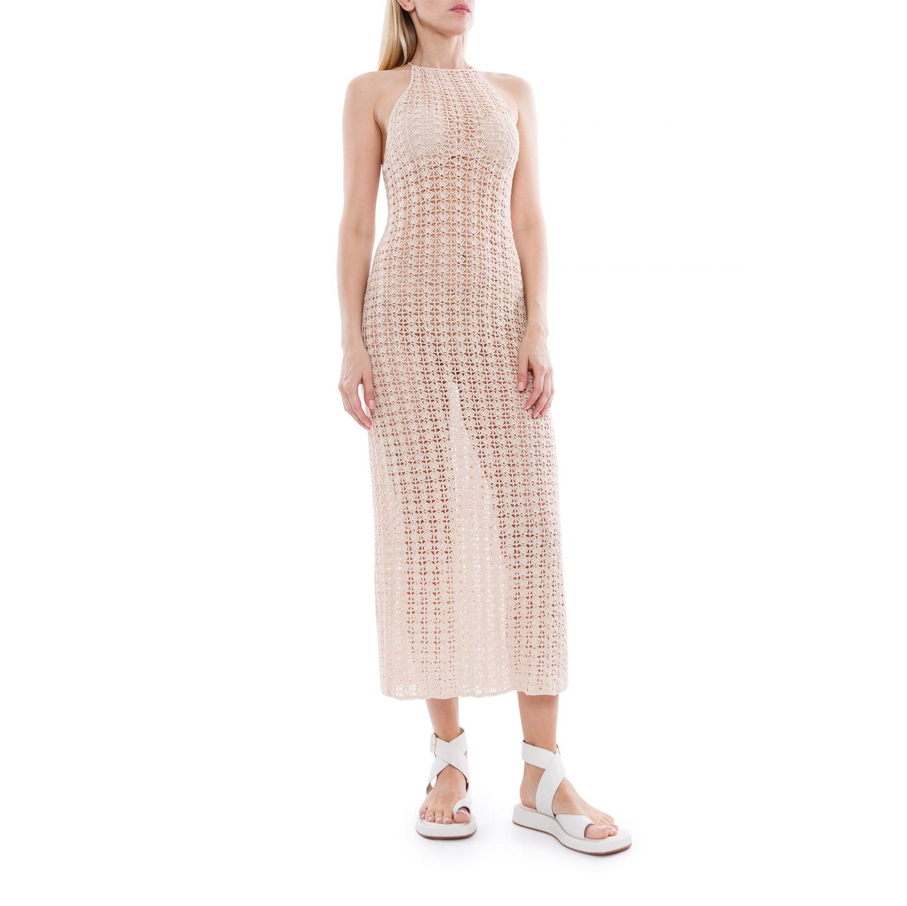 Платье Cult Gaia Demi бежевое