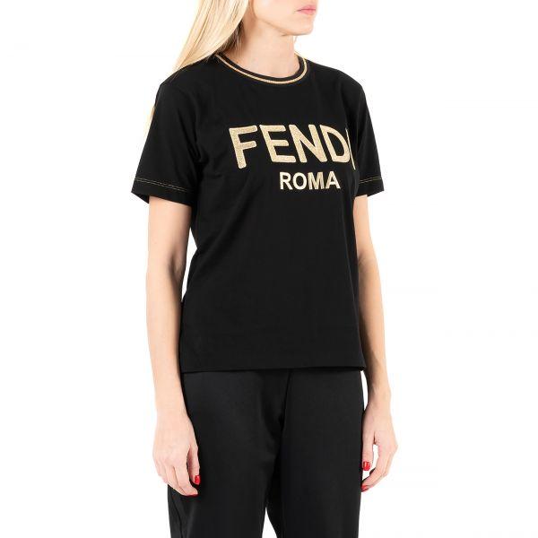 Футболка Fendi черная