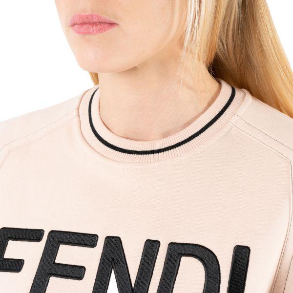Свитшот Fendi пудровый