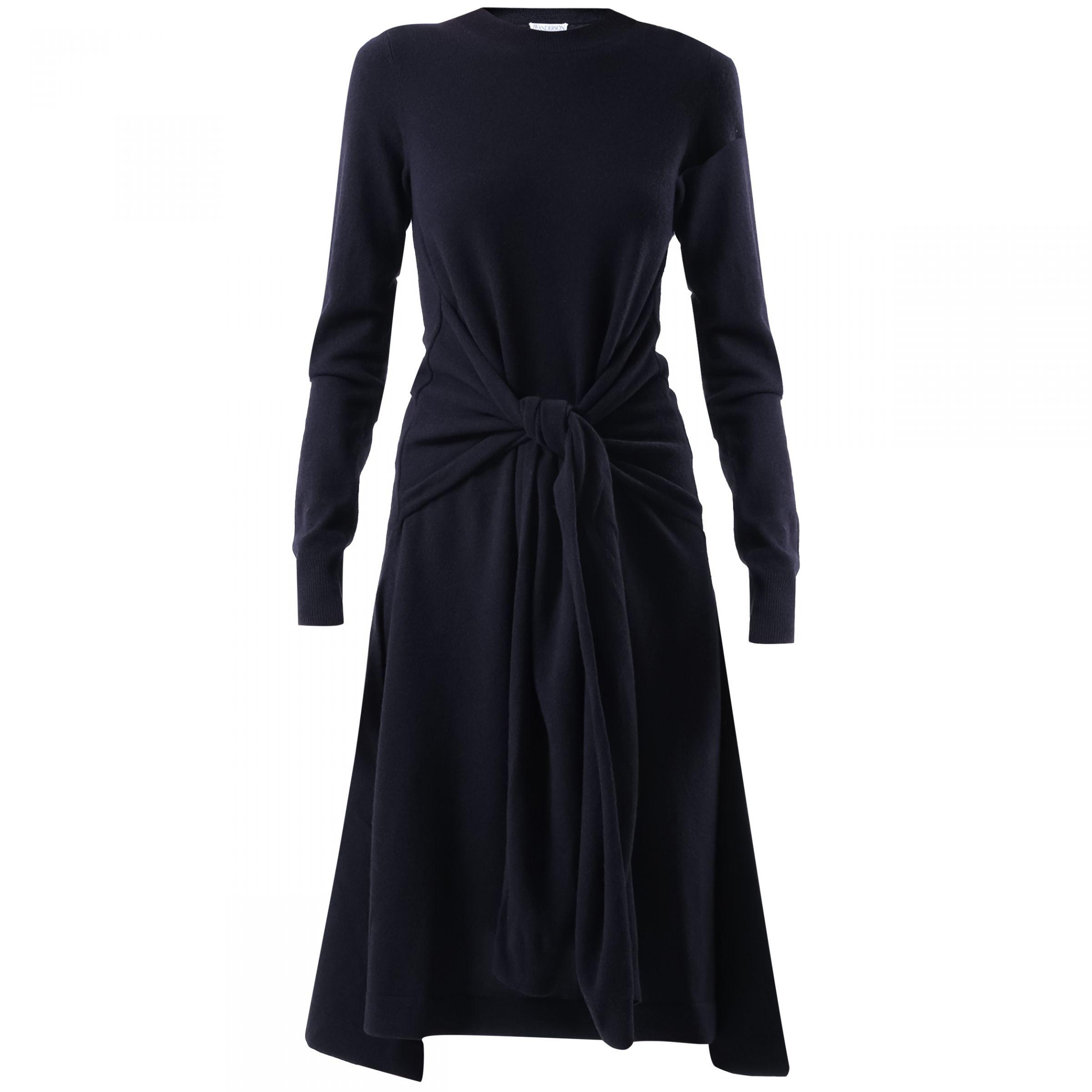 Платье длинное J.W.Anderson синее