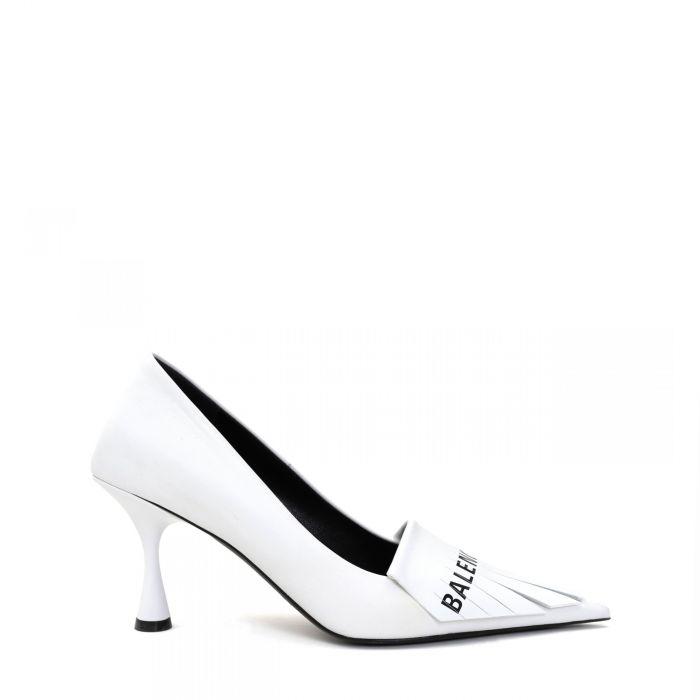 Туфли Balenciaga бело-черные