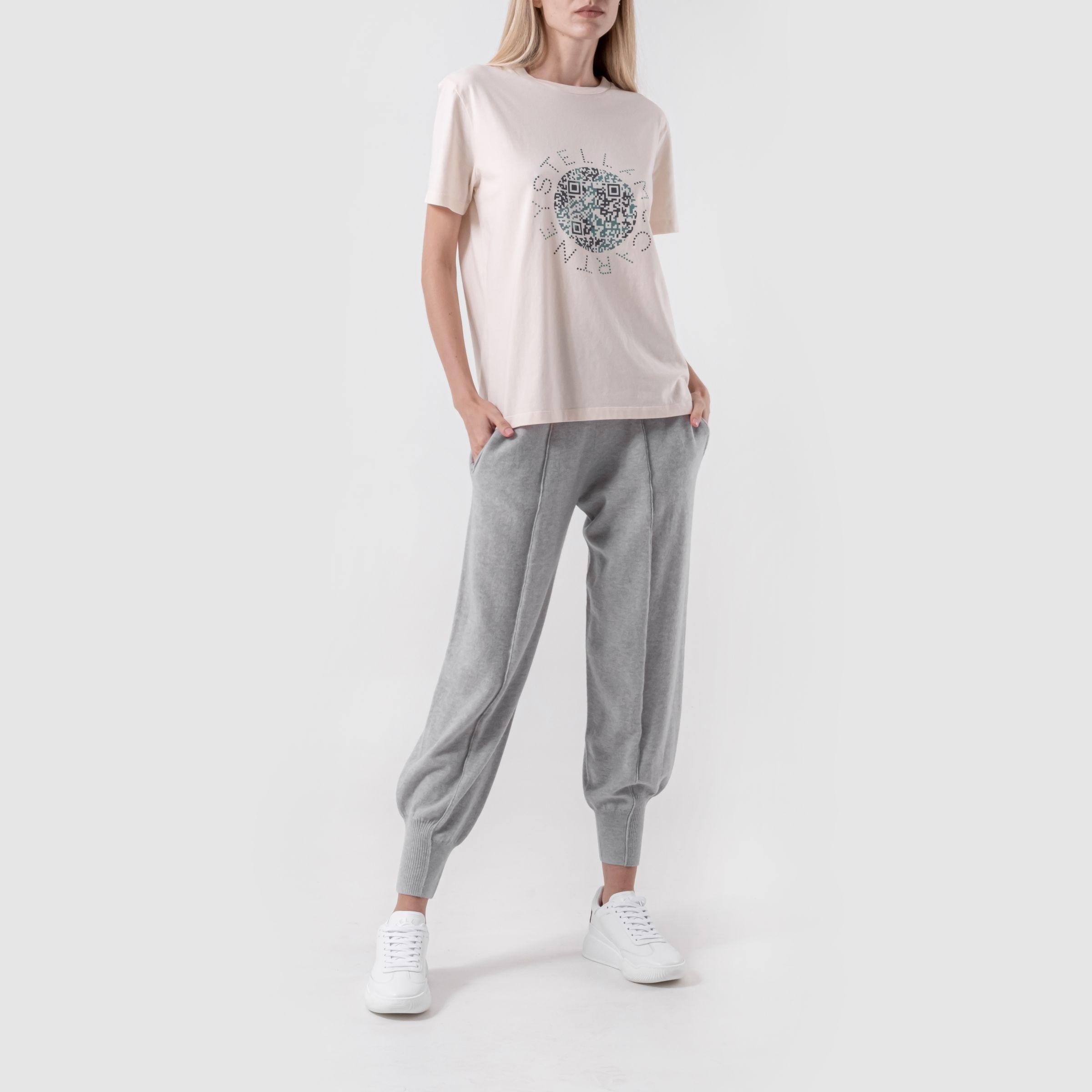 Спортивные брюки Stella McCartney серые