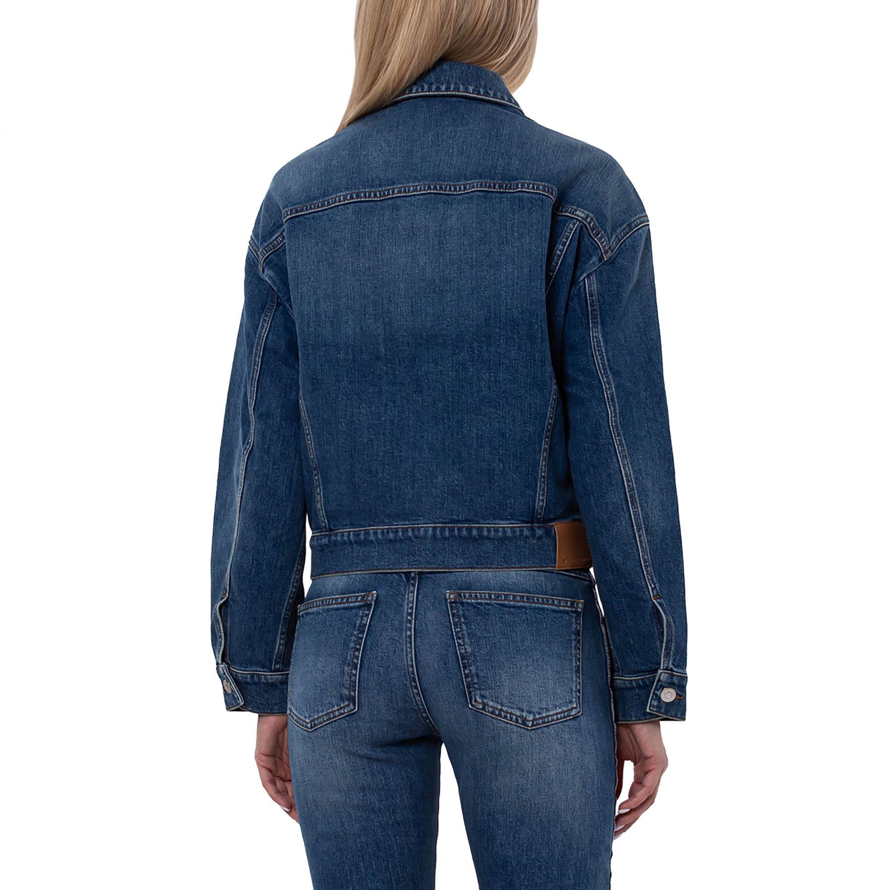 Куртка Stella McCartney голубая