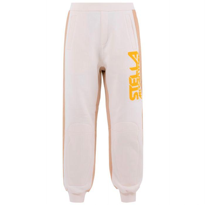 Спортивные брюки Stella McCartney Logo бежевые