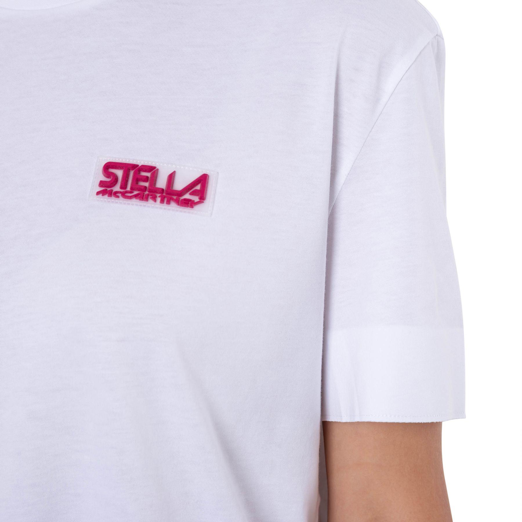 Футболка Stella McCartney белая