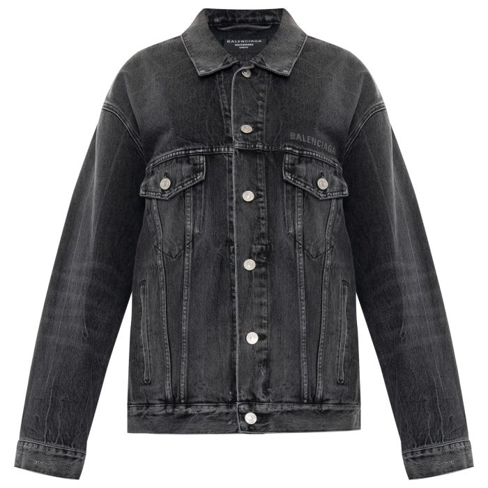 Куртка Balenciaga Drip Peace черная