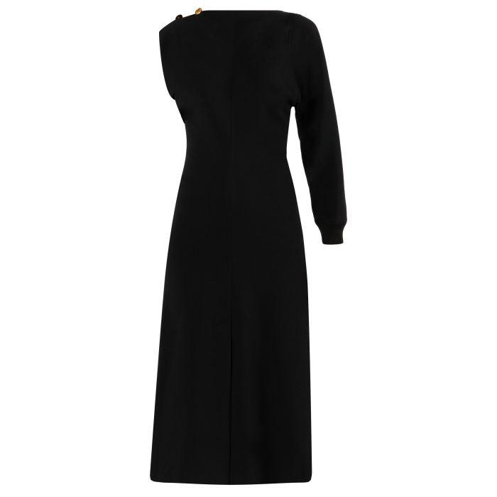 Платье длинное Givenchy черное