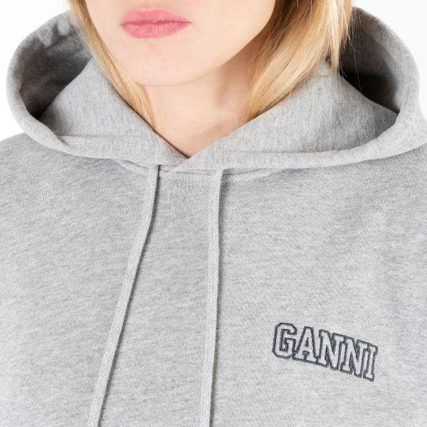 Худи Ganni серое