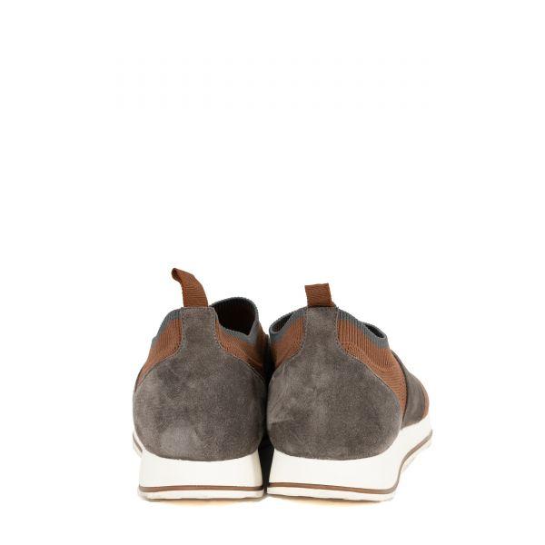 Кроссовки Eleventy коричневые