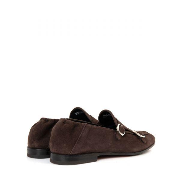 Туфли-монки Franceschetti черные