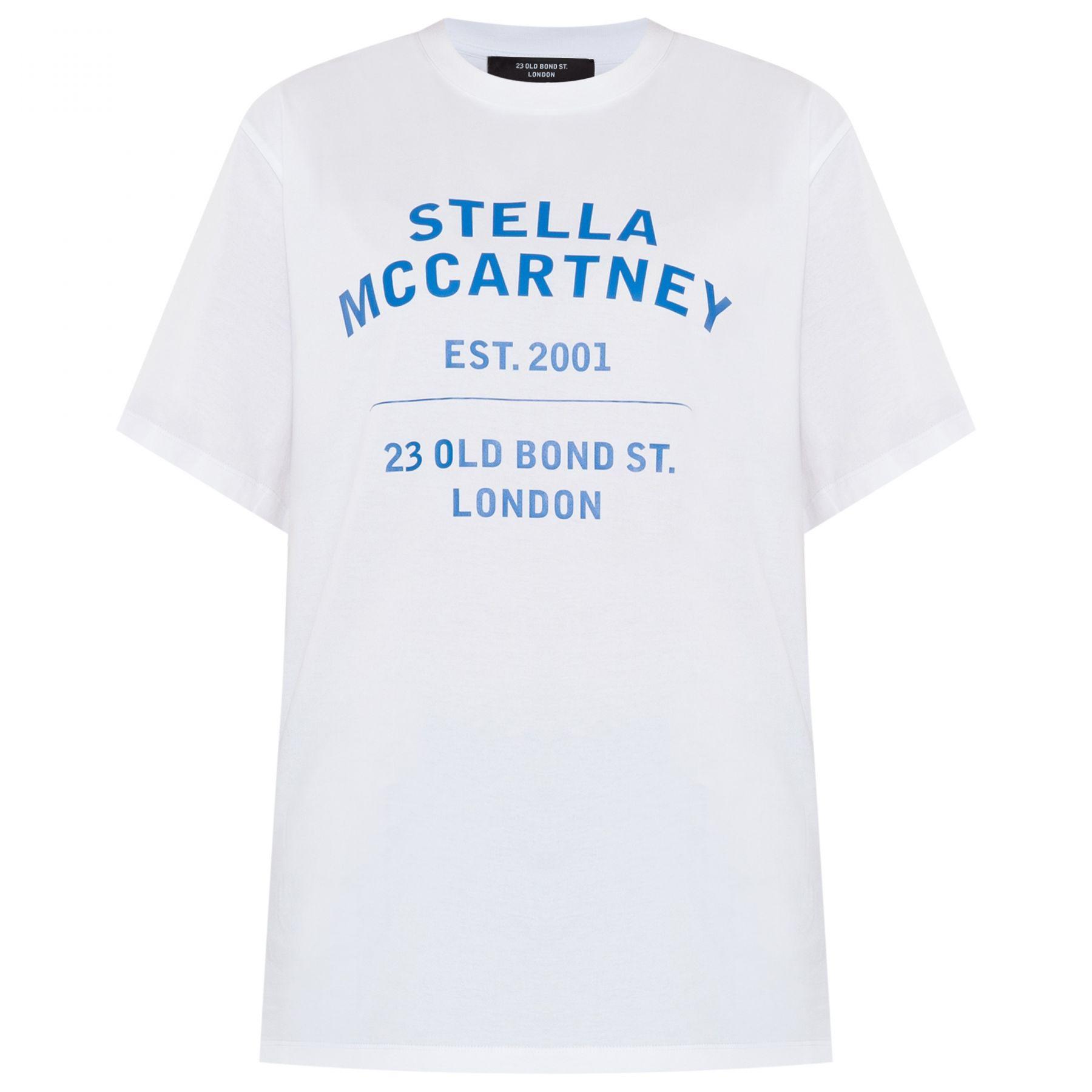 Футболка Stella McCartney 23 OBS белая