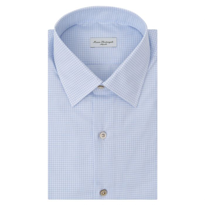 Рубашка с длинными рукавами Maria Santangelo голубая