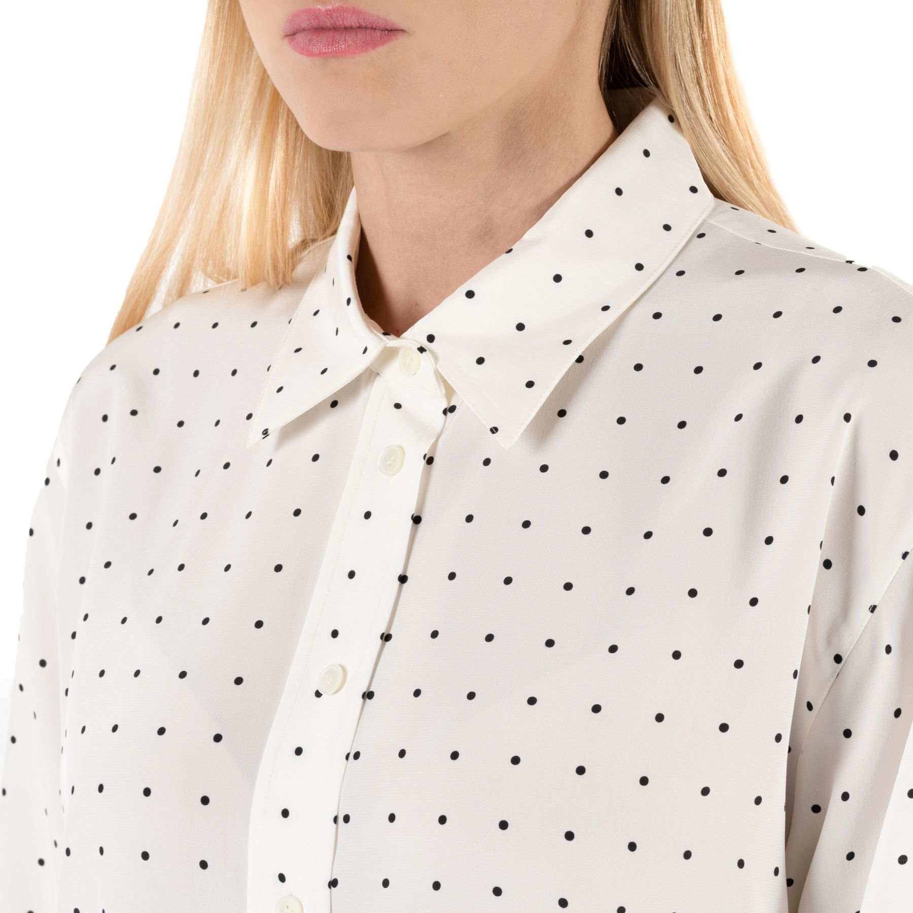Рубашка с длинными рукавами Joseph Brooks белая