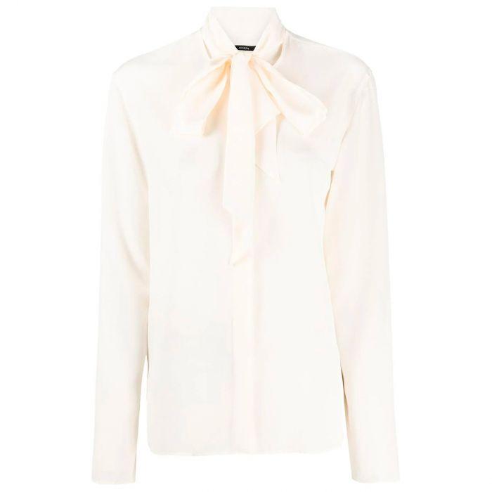 Блуза Joseph Crepe de Soie Branca белая