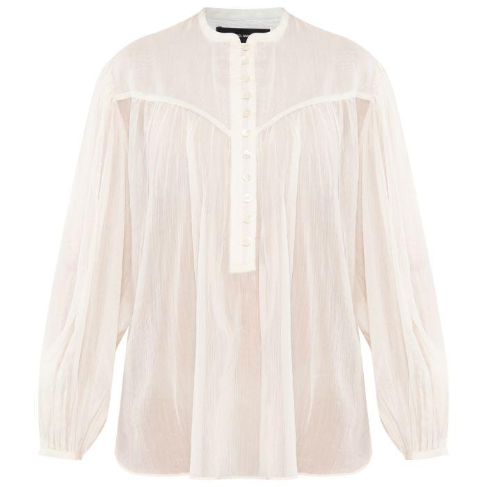 Блуза Isabel Marant Kiledia белая