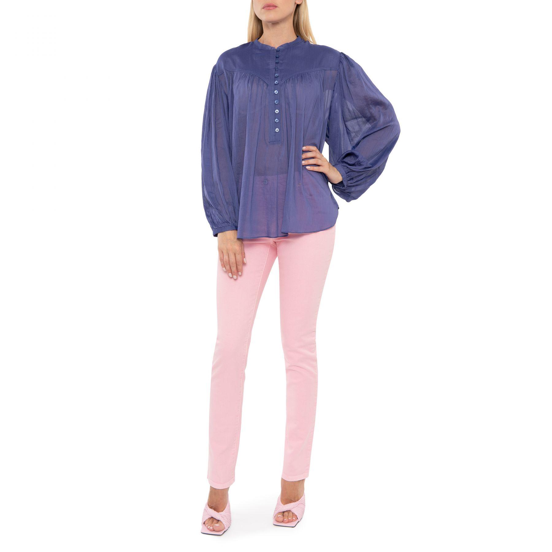 Блуза Isabel Marant Kiledia фиолетовая