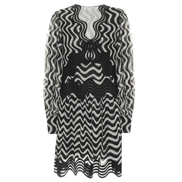 Платье Stella McCartney черно-белое