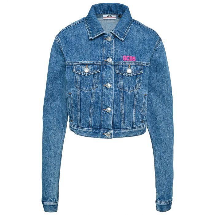 Куртка GCDS Donna голубая