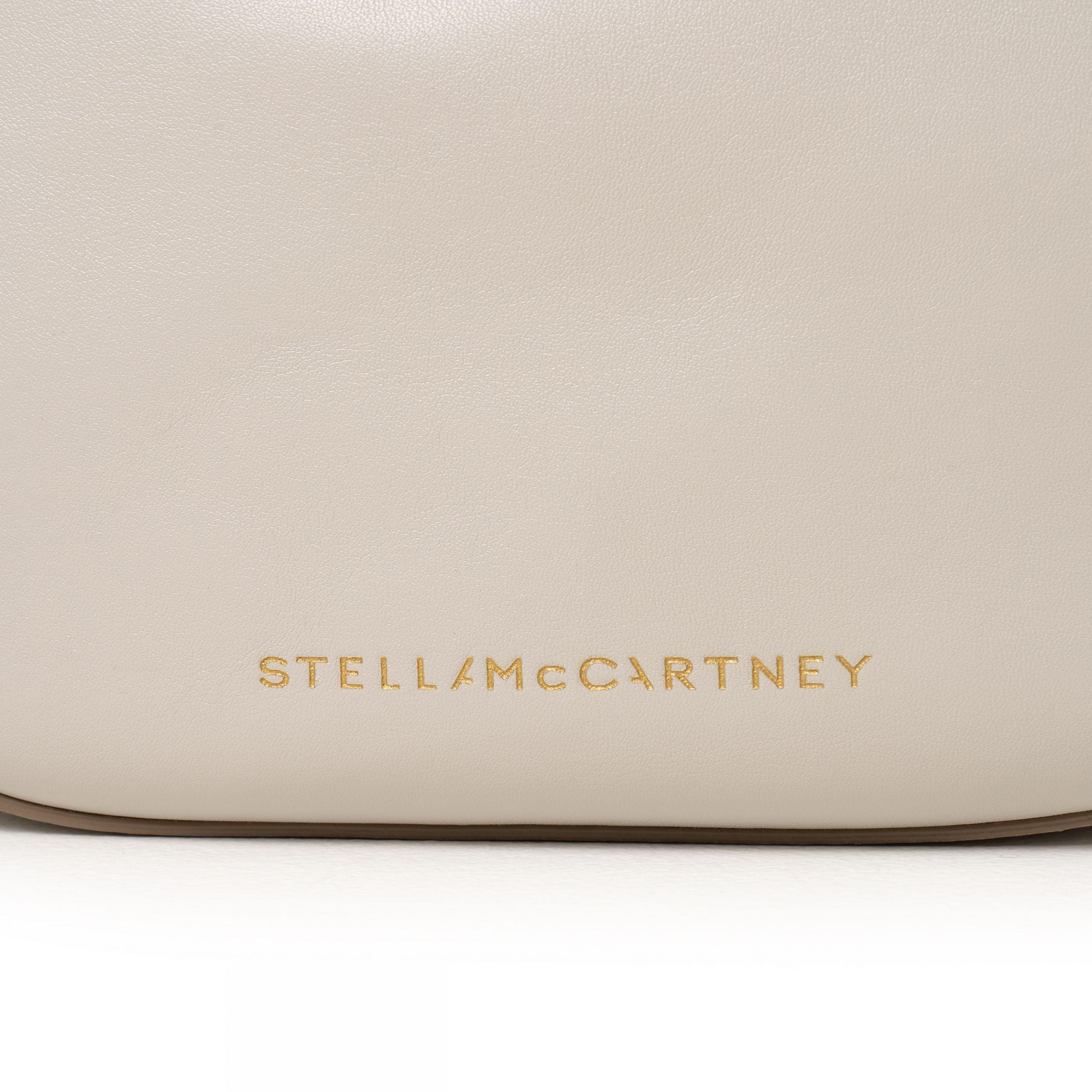 Сумка Stella McCartney бежевая