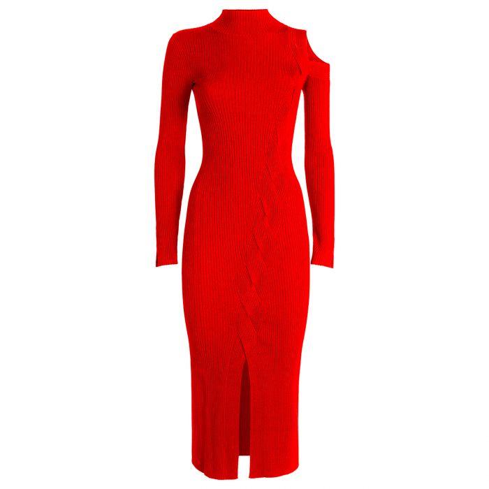 Платье Jonathan Simkhai Aurora красное