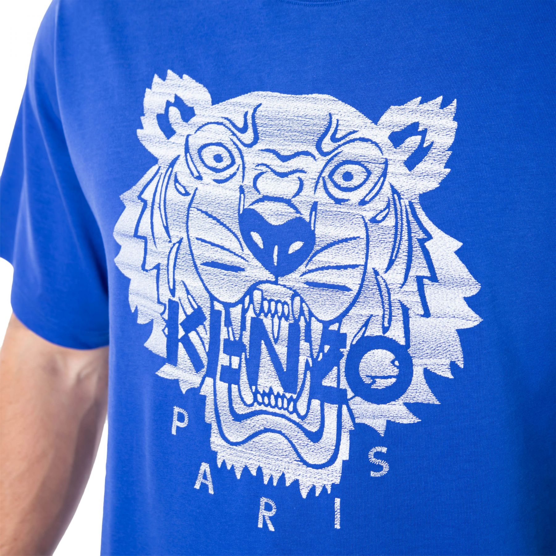 Футболка Kenzo синяя