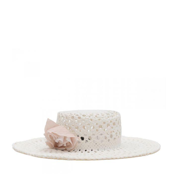 Шляпа Lorena Antoniazzi белая