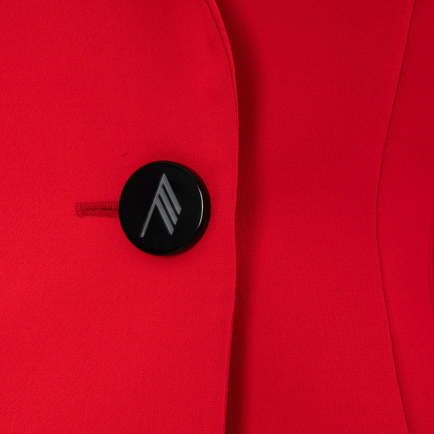 Пиджак The Attico красный