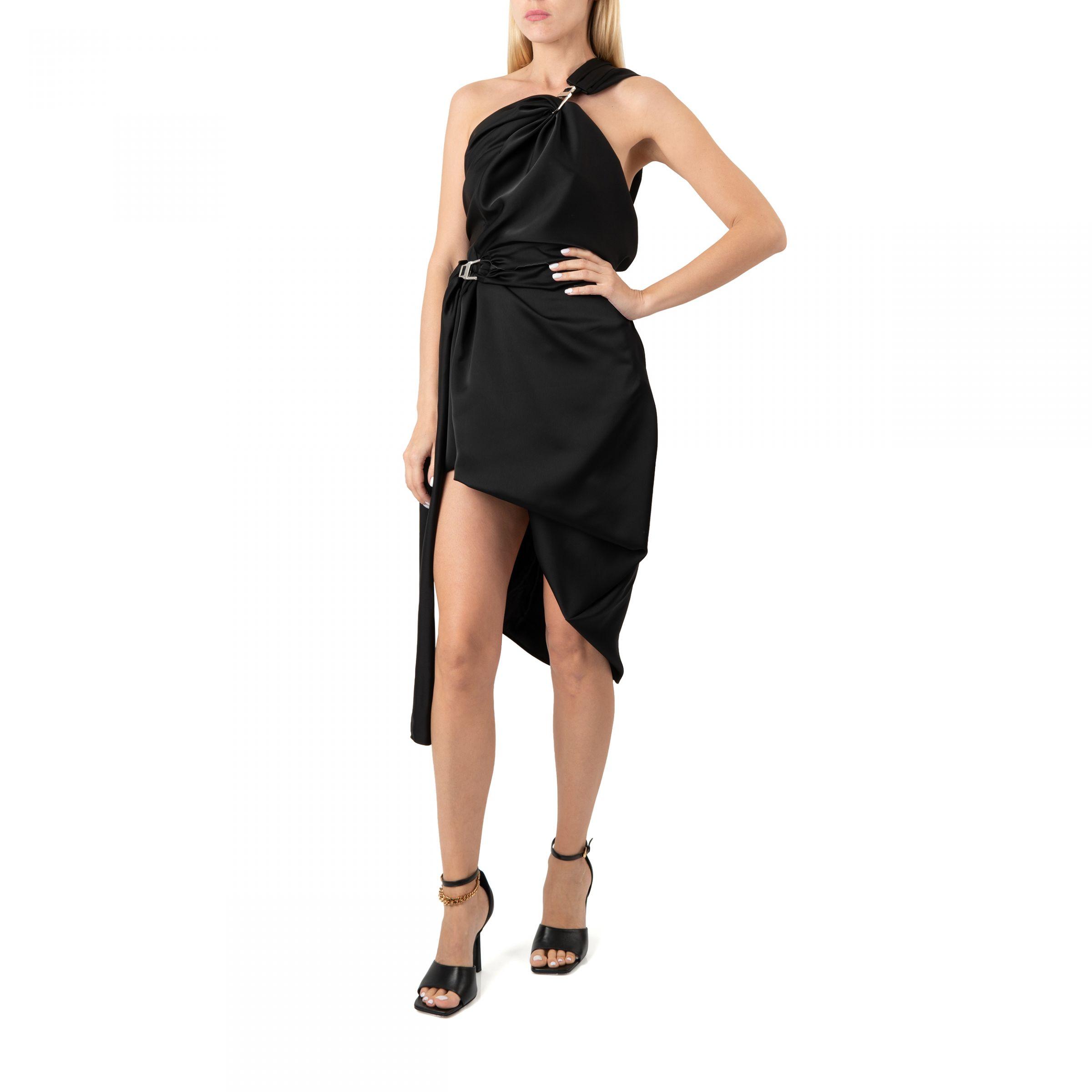 Платье The Attico черное