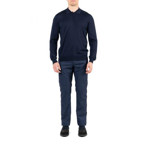 Поло Corneliani темно-синее
