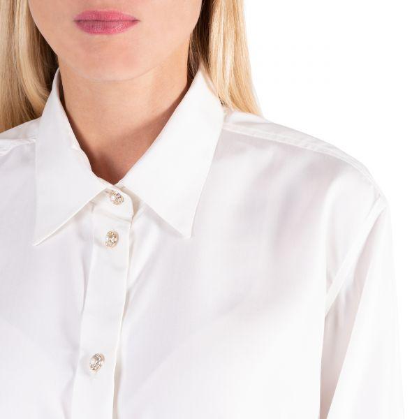 Блуза Alessandra Rich белая