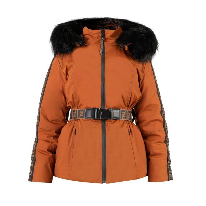 Костюм Fendi оранжевый