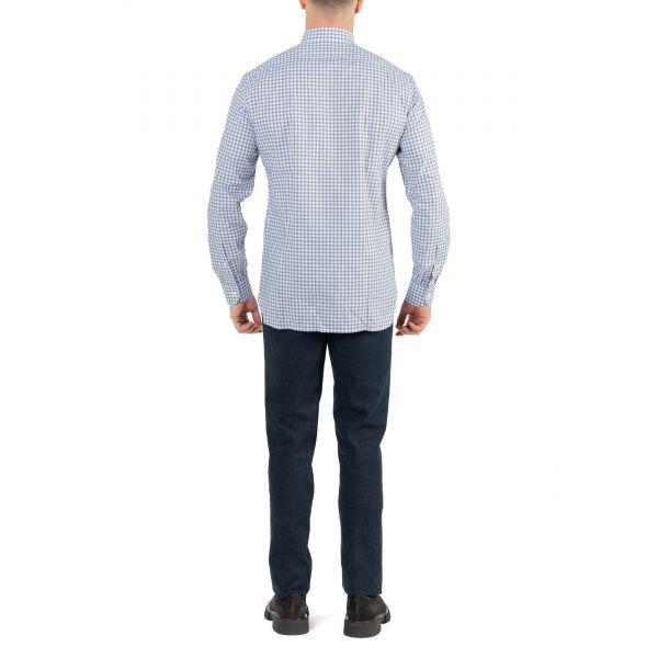 Рубашка с длинными рукавами Luigi Borrelli белая