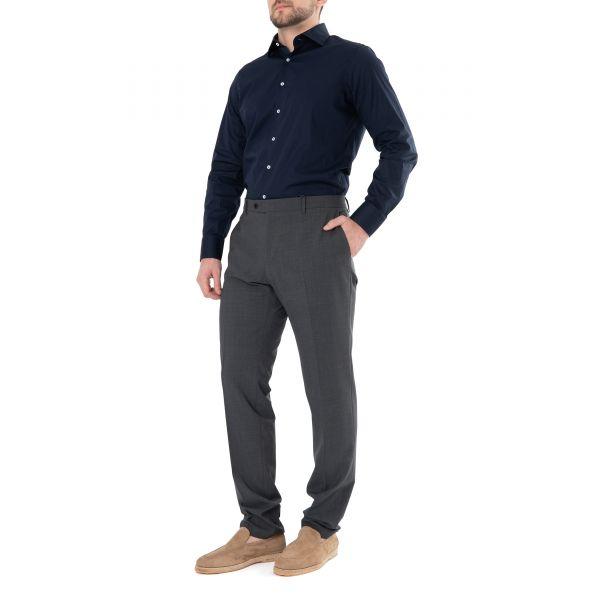 Рубашка с длинными рукавами Tombolini темно-синяя