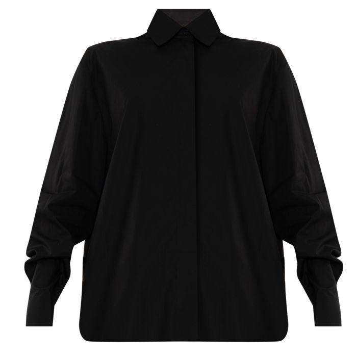 Рубашка с длинными рукавами Alexandre Vauthier черная