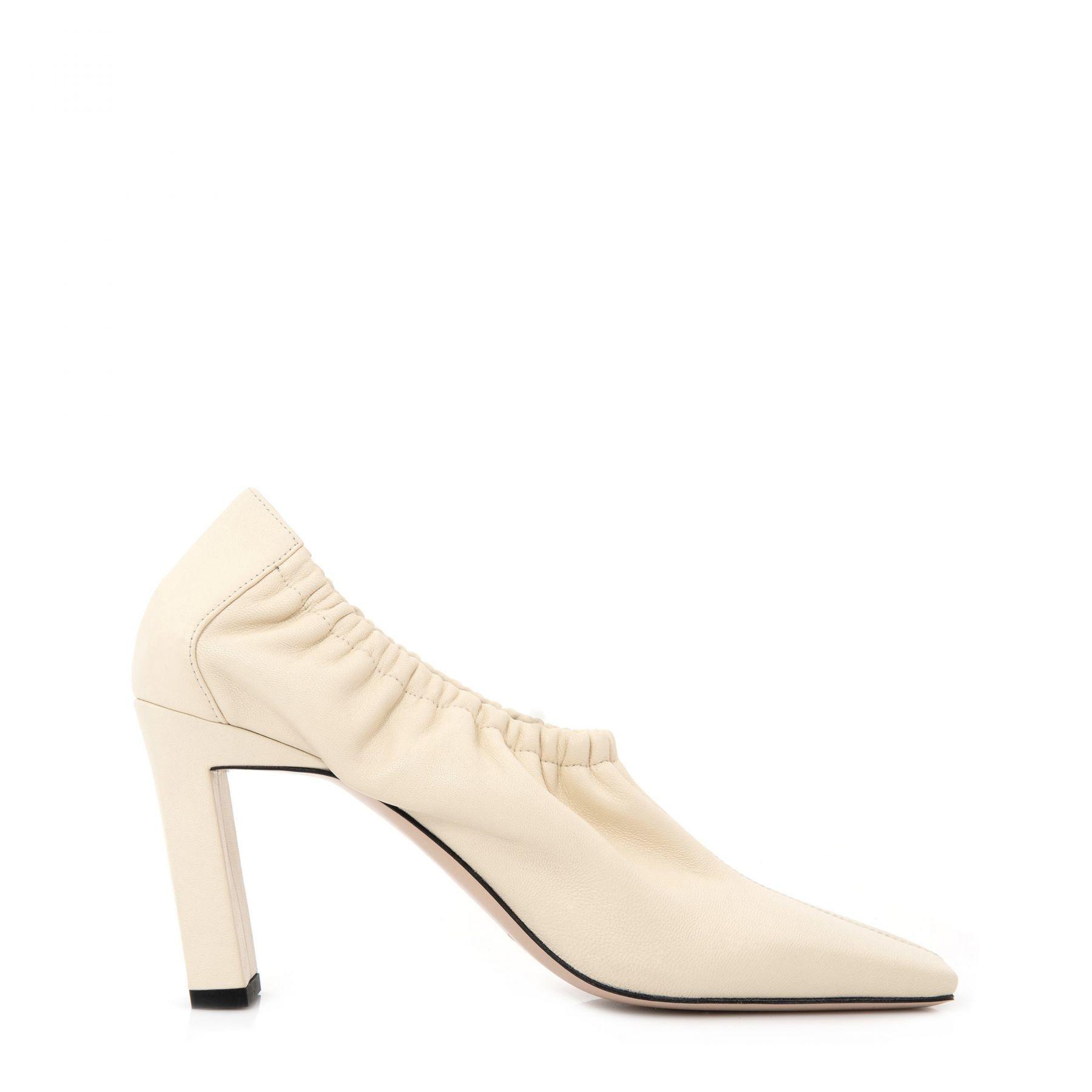 Туфли Wandler Mia кремовые