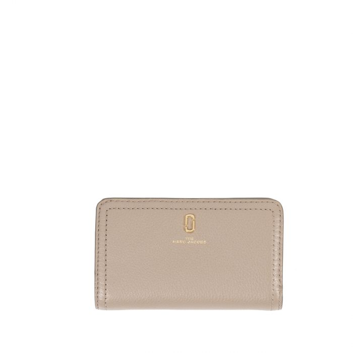 Портмоне Marc Jacobs The Softshot Wallet бежевое