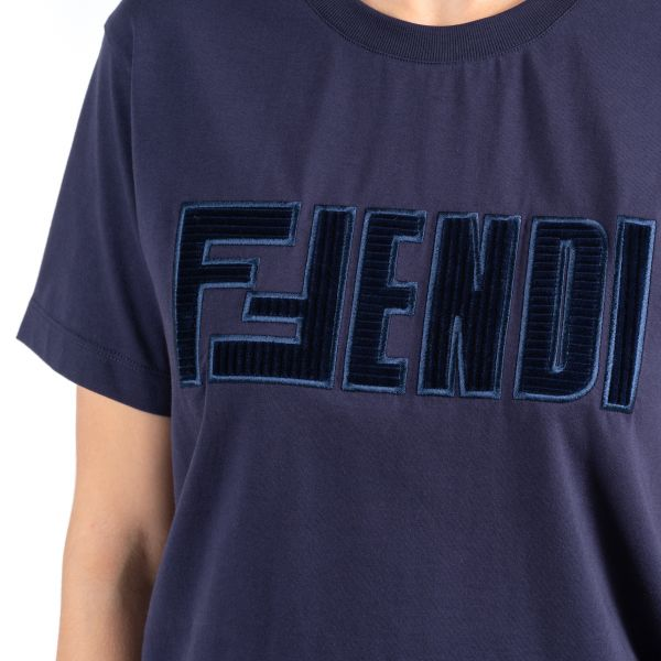 Футболка Fendi синяя